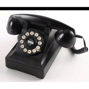 Other - Crosley Kettle Classic Desk Phone in Black